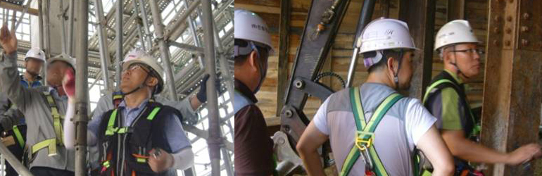 현대건설 건축·토목·플랜트 부문 현장 평가점검 실시(2011~2012년 : 팀장 참여)